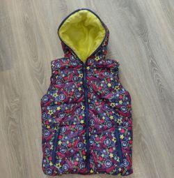 Bright blown vest