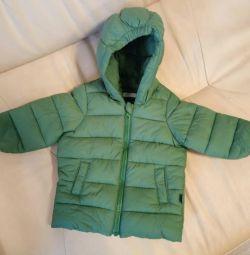 Куртка осенняя 62-68 (3-4 мес)