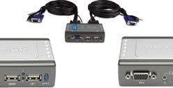 Switch d-link kvm switch KVM-221