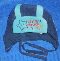 Καπέλο με καπέλο Happy Lama ρ.50 (50-53)