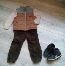 Set with vest on 92-98