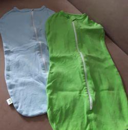 Diaper zippers