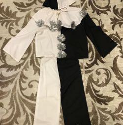 Pierrot (κοστούμι για παιδιά ηλικίας 1.5-2 ετών)