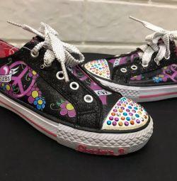 Kız için spor ayakkabısı Skechers
