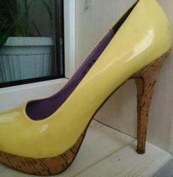 Natur pantofi de piele lacski svetski
