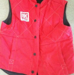 overalls - new vest