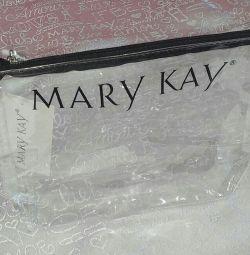 Geanta cosmetica transparenta