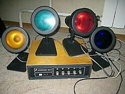 Muzica de culori Electronica cm-47 (set).