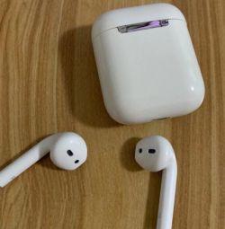 Ασύρματα ασύρματα στερεοφωνικά ακουστικά Hi-Fi AirPods