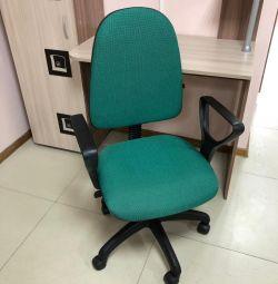 Καρέκλα Prestige Samba (V-18) ύφασμα (Πράσινο)