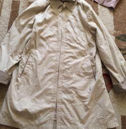 Windbreaker jacket is elongated 54-56 size