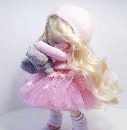 Лялька з тканини. Текстильна лялька.