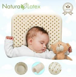 ? Baby Ortho Pillow 100% Latex New