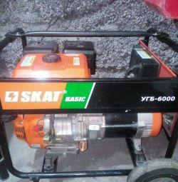 Γεννήτρια πετρελαίου SKAT UGB-6000 νέα