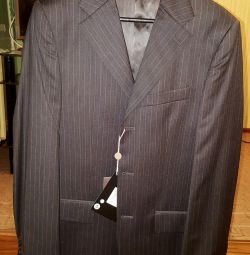 Italian jacket new 100 wool