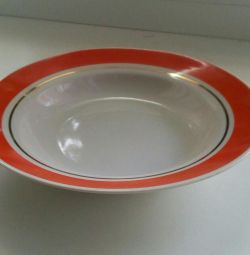 New Plates deep 6 pcs