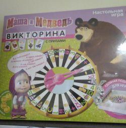 Joc nou Masha și ursul