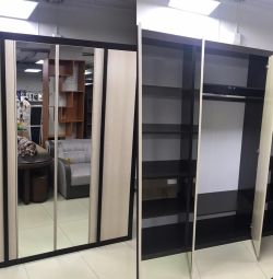 06.242 combined cabinet with mirrors
