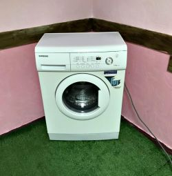 Washing machine Narrow SAMSUNG.Guarantee.Delivery