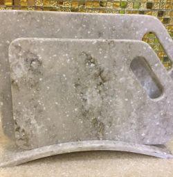 Набор досок из искусственного камня
