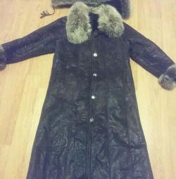 Women's fur coat.