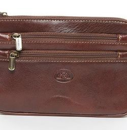 New leather bag for belt Tony Perotti.2 color