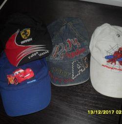 Caps + Panamas + caps