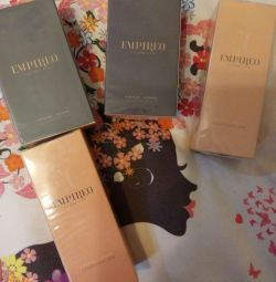 Perfume Empirio Empireo, Czech Republic