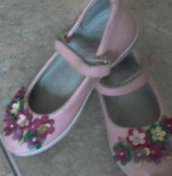Παπούτσια για παιδιά 27 φορές δύο ζεύγη.