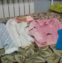 A package of clothes for a girl