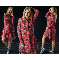 P50- .52 φόρεμα πουκάμισο