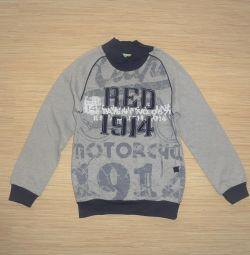 Insulated sweatshirt