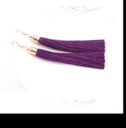 earrings tassels new pack