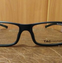 The frame for glasses is new. With case