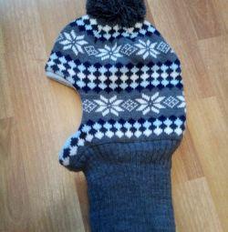 Winter helmet, size 50-52