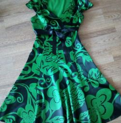 Bir elbise satacağım