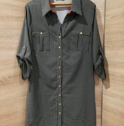 Φόρεμα πουκάμισο