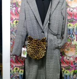🆕 Τσάντα γούνας Νέος στρογγυλός ώμος