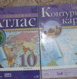 Atlasul și hărțile de contur10