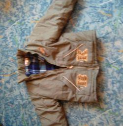 Куртка на рост 110-116