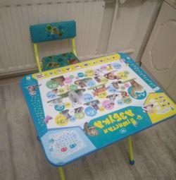 Παιδικό τραπέζι και καρέκλα