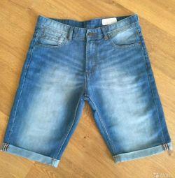 Pantaloni scurți blugi bărbătesc 46-48 Germania