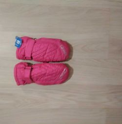 mittens very warm for girls 4-5 years