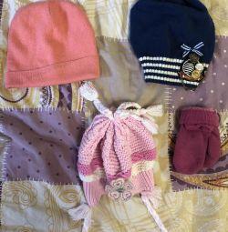 Pălării, pachete eșarfe
