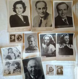 Photos of Soviet and foreign actors