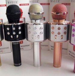 Микрофон  караоке новый в наличии