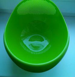 For washing porridge