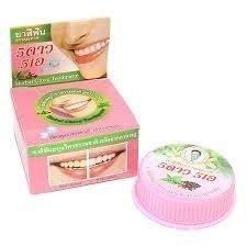 Thai pastă de dinți albă din Thailanda