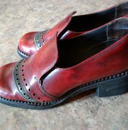 Μπότες, γνήσιο δέρμα