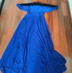 Βραδινό μέγεθος φόρεμα 46-48